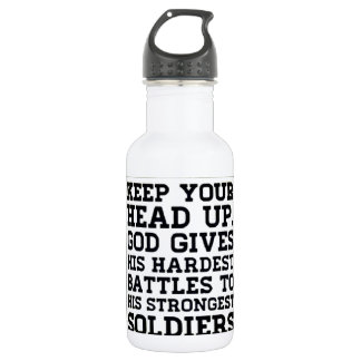 Keep your Head up 532 Ml Water Bottle