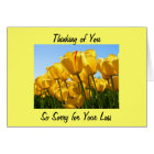 KEEP YOUR MEMORIES OF MOTHER IN HEART-SYMPATHY CARD