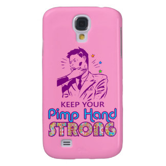 Keep Your Pimp Hand Strong Galaxy S4 Case