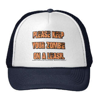 Keep Ypur Zombie on a Leash Cap
