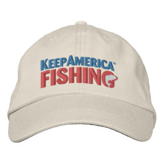 KeepAmericaFishing Embroidered Hat