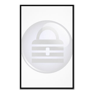 Keepass Button Symbol Customized Stationery