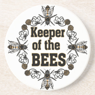 keeper of the bees coaster