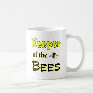 keeper of the bees dark basic white mug