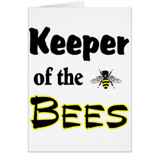 keeper of the bees greeting cards