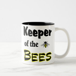 keeper of the bees Two-Tone mug