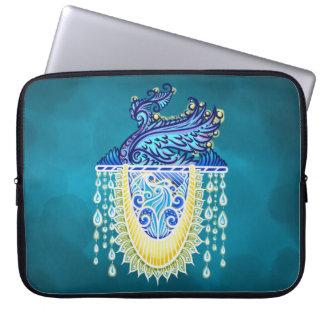 Keeper of the light, positivevibes, healing laptop sleeve