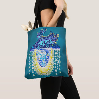 Keeper of the light, positivevibes, healing tote bag