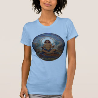 Keeper of the Threshold by Elihu Vedder T-Shirt