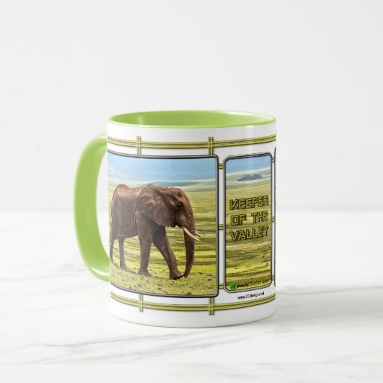 Keeper Of The Valley Elephant Mug