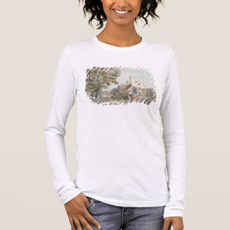 Keepers House in Richmond Park, 1757 (pen, ink & w Long Sleeve T-Shirt