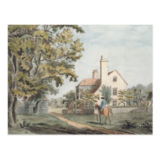 Keepers House in Richmond Park, 1757 (pen, ink & w Postcard