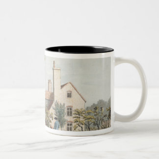 Keepers House in Richmond Park, 1757 (pen, ink & w Two-Tone Coffee Mug