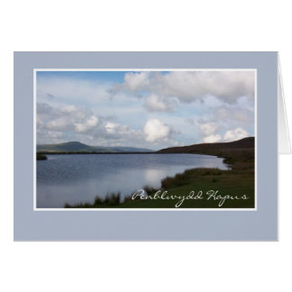 Keepers Pond Birthday Card: Welsh Greeting Card