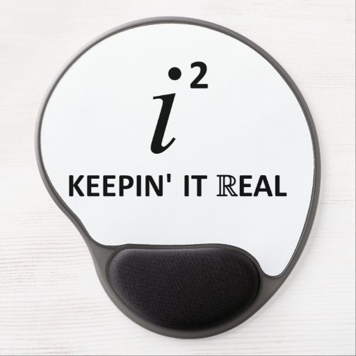 Keepin' It Real Gel Mouse Pads