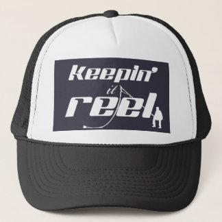 Keepin' It Reel (all colours) Trucker Hat