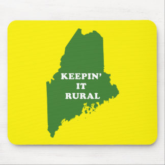 Keepin' it Rural in Maine Mouse Pad