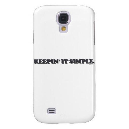 Keepin' It Simple Samsung Galaxy S4 Case