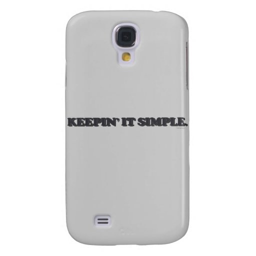 Keepin' it simple. samsung galaxy s4 cases