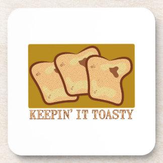 Keepin' It Toasty Coaster