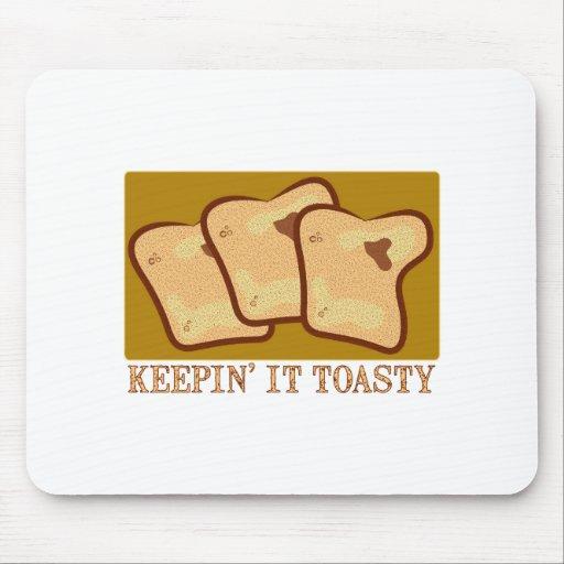 Keepin' It Toasty Mousepad