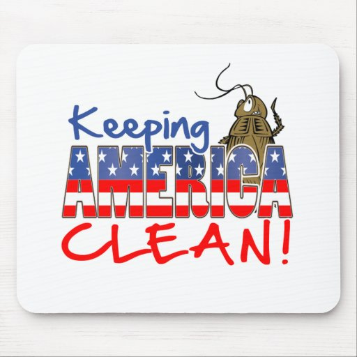 KEEPING AMERICA CLEAN MOUSE PADS
