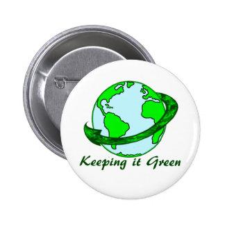 Keeping It Green Button