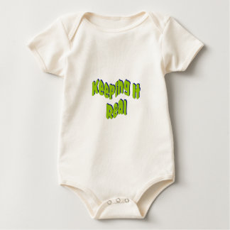 Keeping It Real Baby Bodysuit
