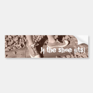Keeping It Rural and Baby Tracks Products Car Bumper Sticker