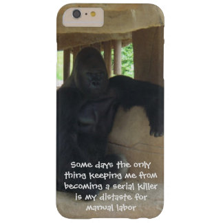Keeping me from becoming a serial killer barely there iPhone 6 plus case