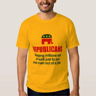 KEEPING MILLIONS OUT OF WORK TSHIRT