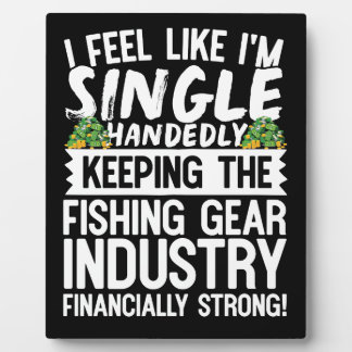Keeping the Fishing Industry Financially Strong Photo Plaques