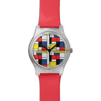 Keeping Time with Mondrian Wristwatches