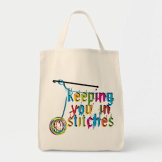 Keeping You In Stitches - Crochet Tote Bags