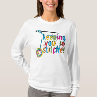 Keeping You In Stitches - Crochet T-Shirt