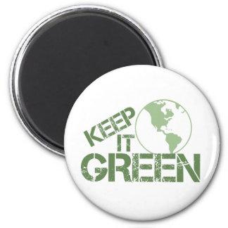 keepitgreen 6 cm round magnet