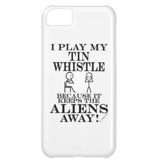 Keeps Aliens Away Tin Whistle iPhone 5C Cases