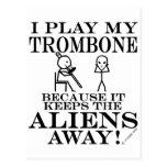 Keeps Aliens Away Trombone