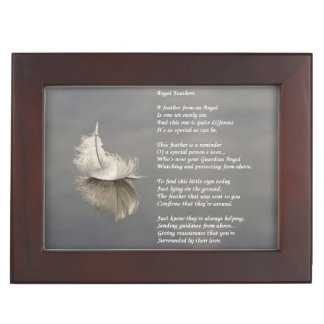 Keepsake Box - Angel Feathers