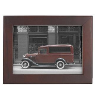 Keepsake Box - Antique Ford Car Memory Box