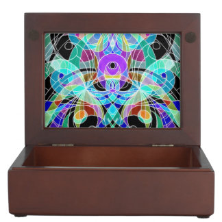Keepsake Box Ethnic Style