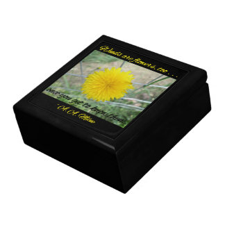 Keepsake Box - Weeds Are Flowers