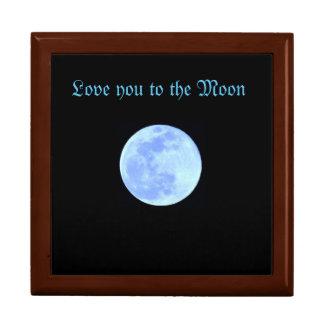 Keepsake Box with Blue Moon