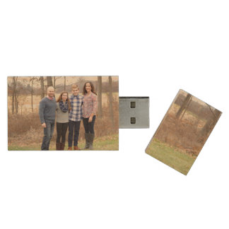 Keepsake custom photo flash drive dads will love