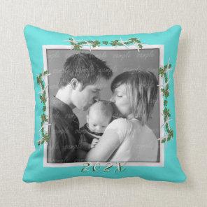 Keepsake Family New Baby Newlyweds Photo Cushion
