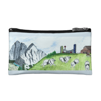 Keeshond Cosmetic Bag