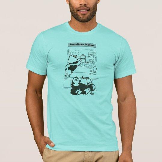 keeshond counter intelligence T-Shirt