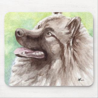 Keeshond Dog Mousepads