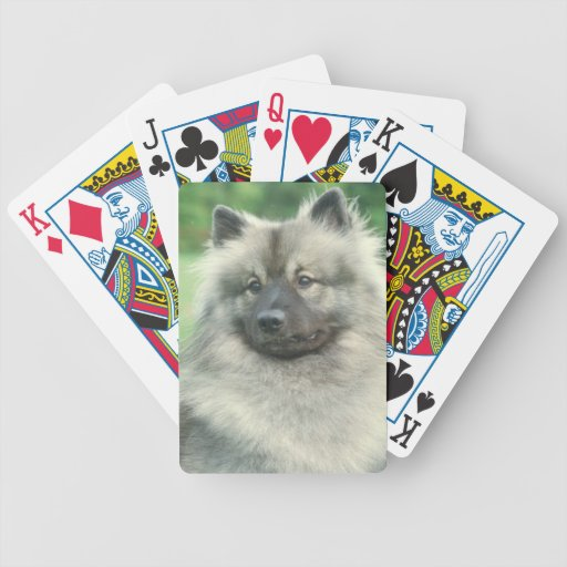 Keeshond Dog Playing Cards