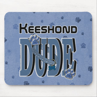 Keeshond DUDE Mouse Pad